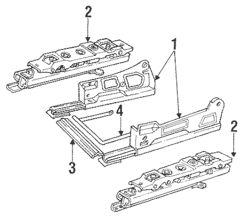 OEM Tracks & Components for 1991 Buick Regal