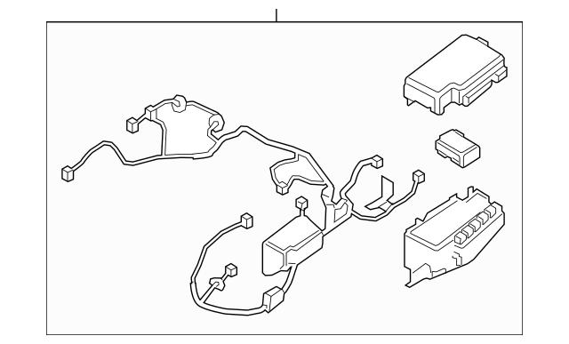 2019-2021 Hyundai Veloster Wire Harness 91225-J3030
