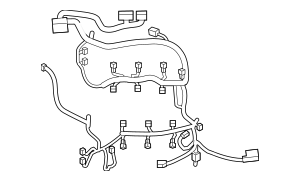 Wiring Harness for 2019 Ford Police Interceptor Sedan