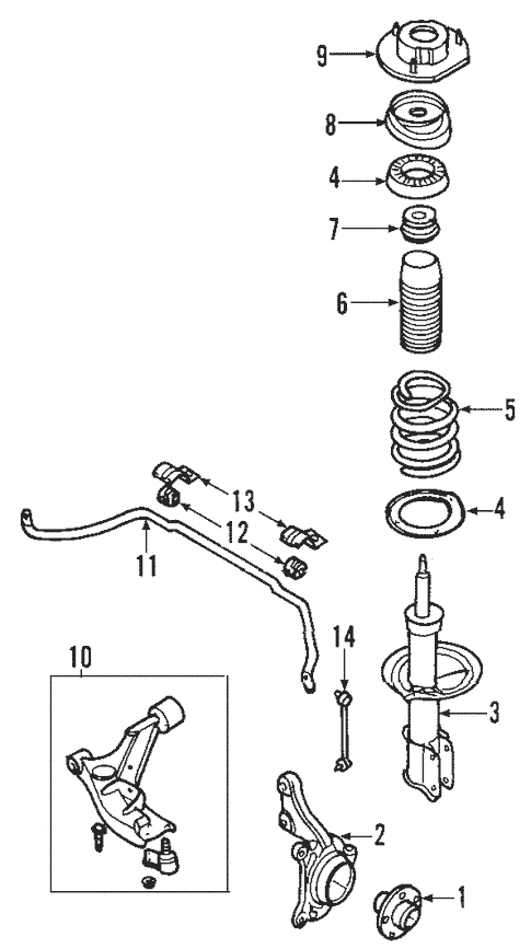 Suspension Components for 2009 Chevrolet Cobalt