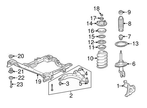 Suspension Components for 2000 Pontiac Montana