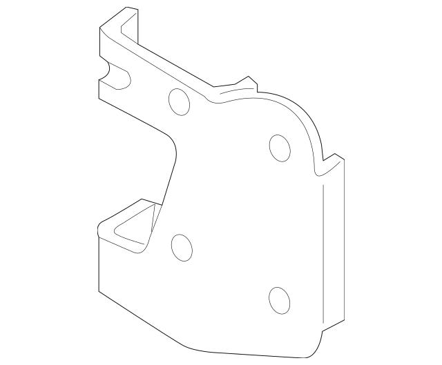 Volkswagen Distance Sensor Bracket (7P6-907-461