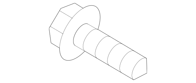 2007-2020 Acura RDX 5-DOOR Screw, Tapping (3X8) 93901