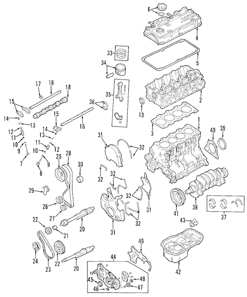 Service manual [2007 Mitsubishi Endeavor Head Bolt Removal