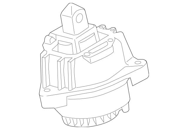 Genuine 2012-2016 BMW Engine Support 22-11-7-935-149