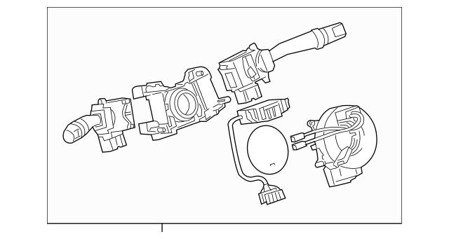 2013-2014 Toyota FJ Cruiser OEM Multi-Function Switch Part