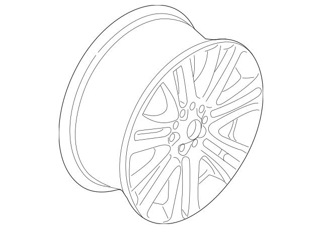 Wheel Lugs Ford Genuine CP9Z-17032-A Wheel Lug Nut Wrench
