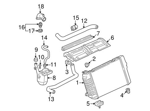 Radiator & Components for 2000 Chevrolet Camaro