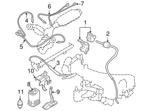 Powertrain Control for 1998 Mitsubishi Montero Sport