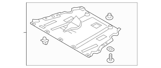 Under Cover for 2015 Ford Fusion|DG9Z-6P013-E : Quirk Auto