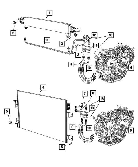 2007 Dodge Caliber Transmission Parts Diagram