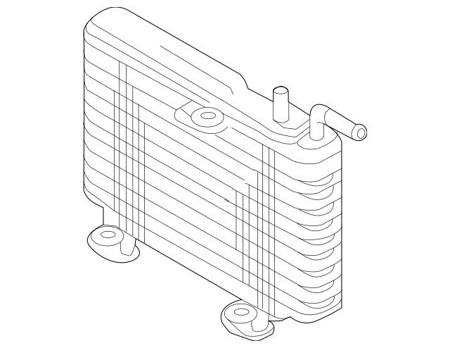 Genuine OEM Trans Cooler Part# 2920A290 Fits 2014-2019