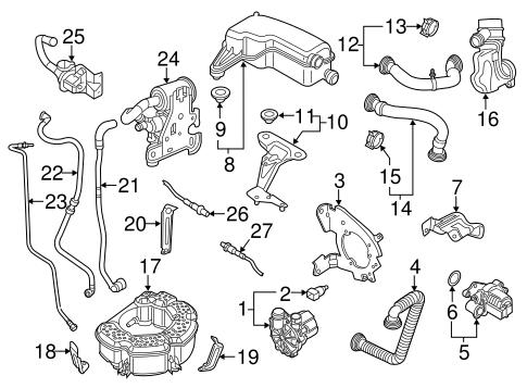 Silencer Insulator for 2015 Volkswagen Jetta 036-129-689-B