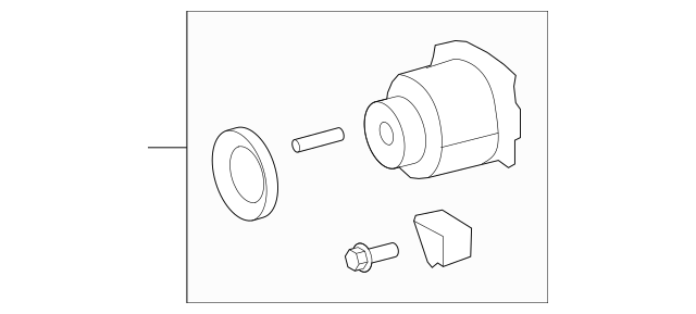 2009-2011 Toyota Coupling CHANGES TO A 41303-68013 41303