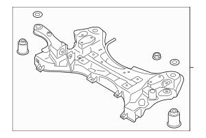 Hyundai Santa Fe Engine Cradle, Hyundai, Free Engine Image