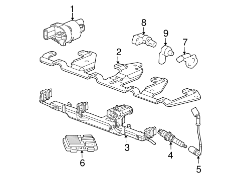 OEM IGNITION SYSTEM for 2008 Chevrolet Impala