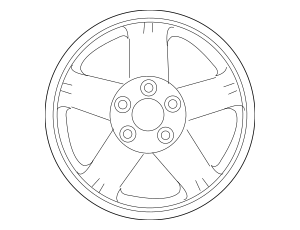 Buy this Genuine 2007-2011 Mitsubishi Outlander Wheel