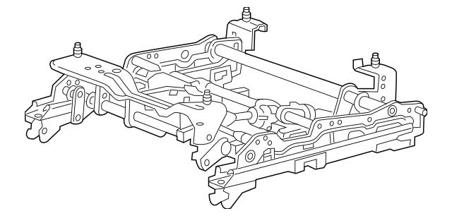 2006-2007 Chevrolet Monte Carlo Seat Adjuster 19123245