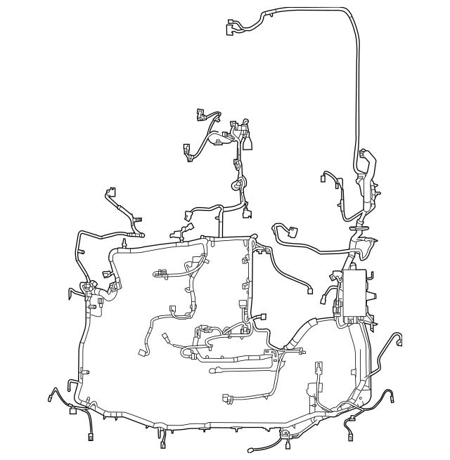 Buy this Genuine 2010 Mercury Mountaineer Engine Harness