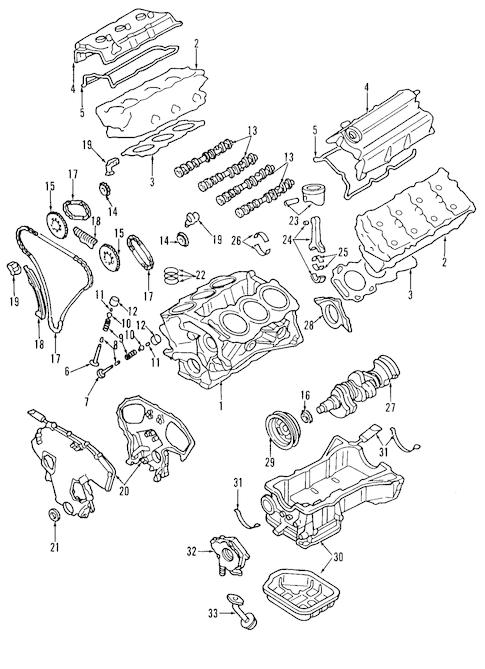 MOUNTS for 2004 Nissan Murano