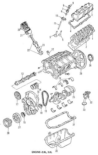 Mounts for 2000 Ford Ranger