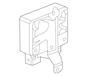 2013-2015 Acura RDX 5-DOOR Eps Unit (Rewritable) 39980-TX4