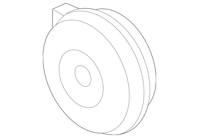 2005-2010 Honda ODYSSEY 5-DOOR Horn Assembly (low) 38100
