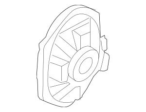 Genuine OEM 2011-2012 Ford Rear Dr Speaker 8L1Z-18808-A