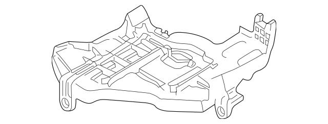2003-2006 Porsche Cayenne Mount Bracket 955-631-041-02