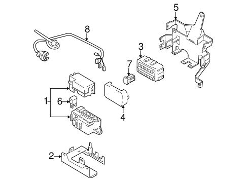Electrical Components for 2003 Suzuki Grand Vitara