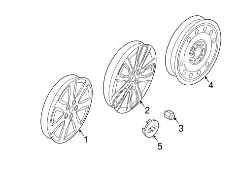 2011-2014 Kia Rio Sorento Soul Sportage Borrego Wheel