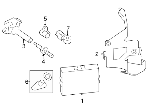 IGNITION SYSTEM for 2015 Subaru XV Crosstrek