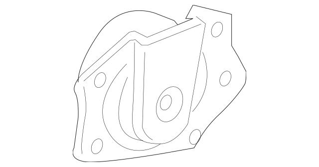 Dodge Neon ENGINE MOTOR MOUNT SUPPORT & BOLT FOR LOWER