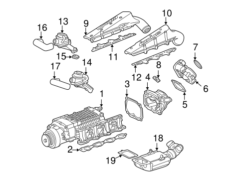 V8 Engine With Supercharger V8 Engine Coil Wiring Diagram