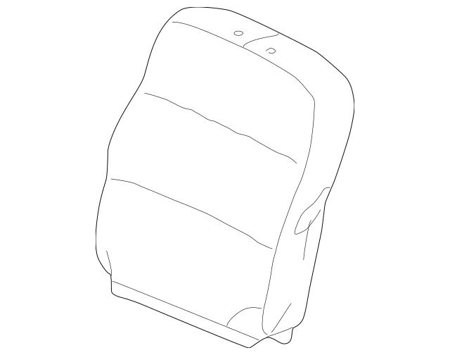 2002-2004 Honda ODYSSEY 5-DOOR Cover Set, L Trim *NH284L