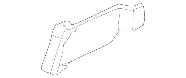 Honda Cover, L Front *YR169L* (Manual Seat)(Sps) (Mild