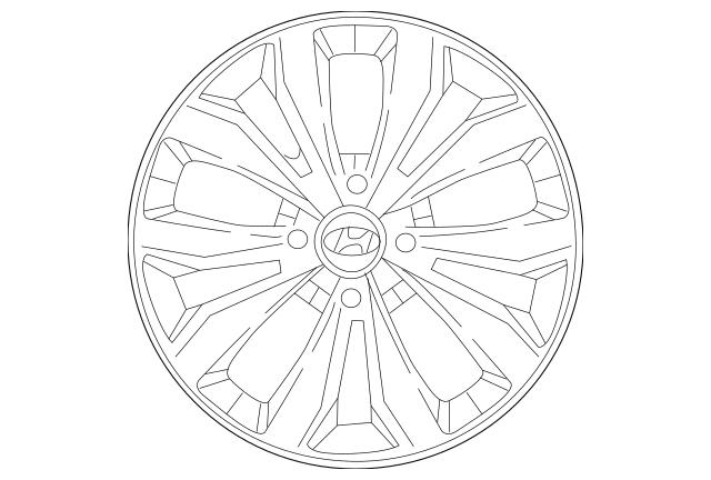 2018-2019 Hyundai Accent Wheel Cover 52960-J0100