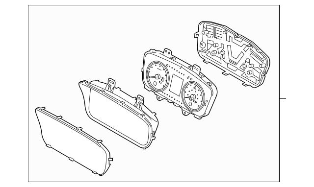2018-2019 Hyundai Sonata Cluster Assembly 94041-E6310