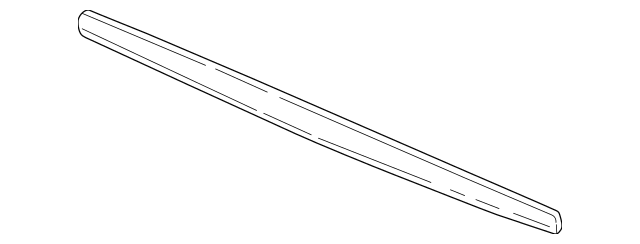 1999-2004 Acura RL SEDAN Molding, Rear License 74895-SZ3