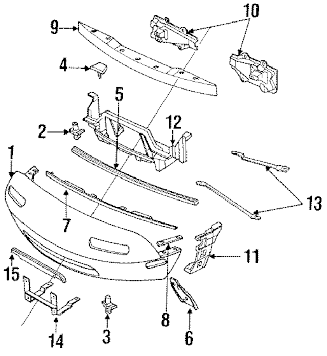 Mazda Miata Exterior Parts Diagram. Mazda. Auto Wiring Diagram