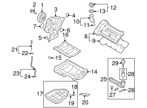 Gaskets & Sealing Systems for 2015 Hyundai Genesis Coupe