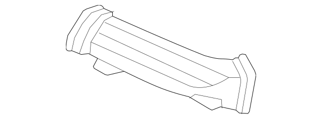 2004-2008 Acura TSX SEDAN Duct B, Instrument Passenger Air