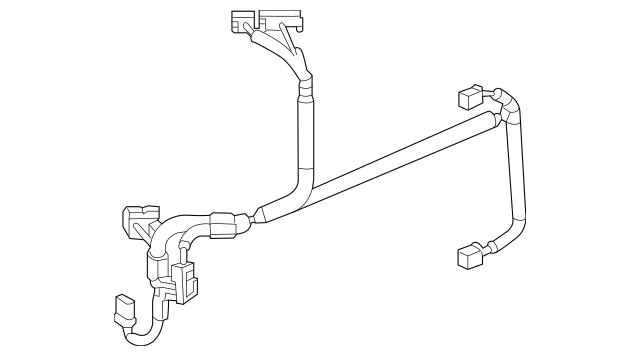 2014 Honda ACCORD PLUG-IN SEDAN Harness, L Ipu (Lower