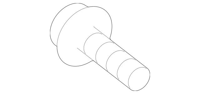 Genuine OEM Tension Pulley Adjust Bolt Part# 11290-08456B