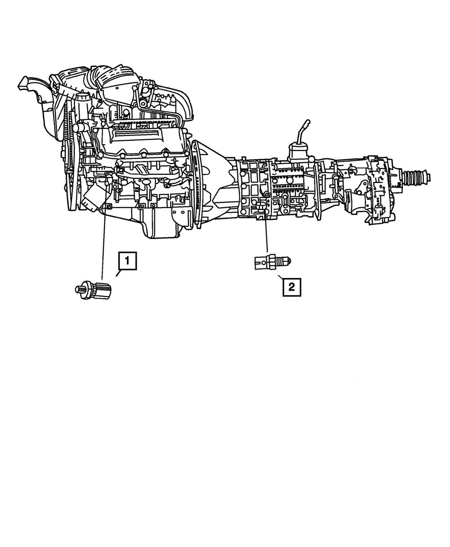 2003-13 DODGE RAM 1500 Oil Pressure Sending Unit OEM
