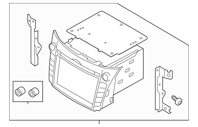 2013-2015 Hyundai Elantra GT Display System 96560-A5160