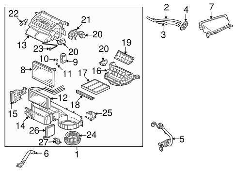 Mitsubishi Lancer 2008 Parts Diagram