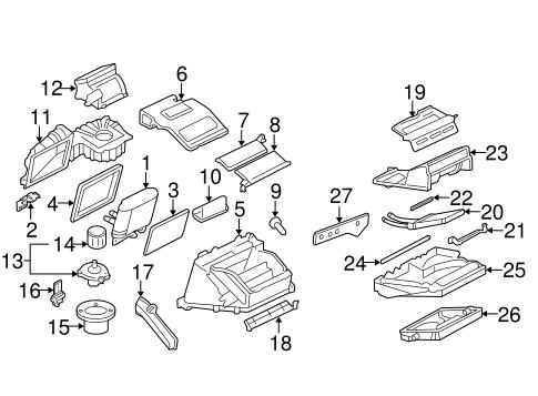 Evaporator & Heater Components for 2004 Chevrolet Cavalier