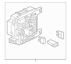 2014-2015 Mitsubishi Lancer Fuse & Relay Box 8637A655