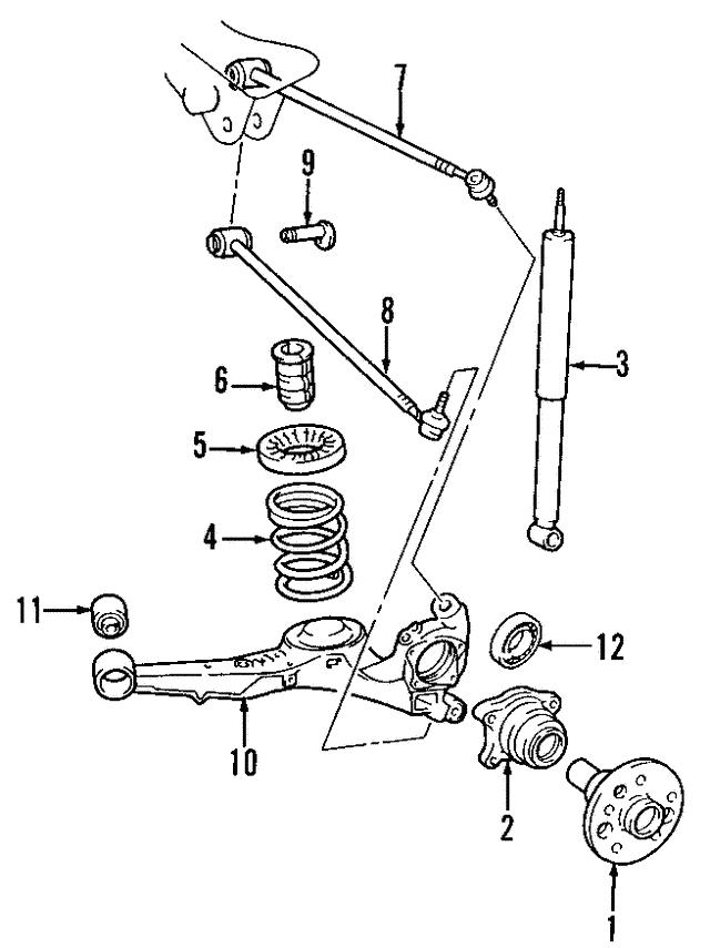 Hyundai Santa Fe Upper Control Arm